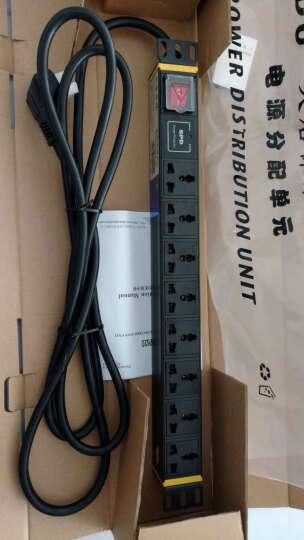 大唐保镖 工业PDU电源分配器机柜插座插排功率4000W 3米线缆多库直发含税含运 HP7620 开关防雷8位国标孔 16A输入10A输出 晒单图