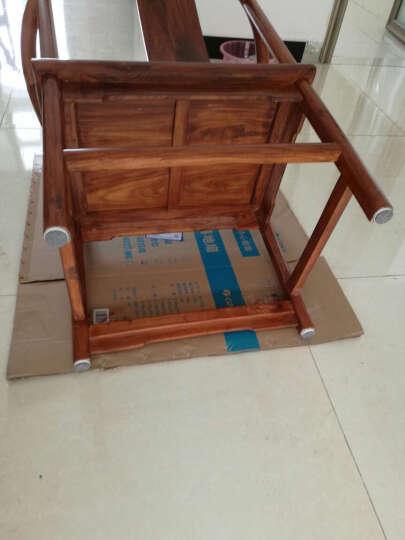 格奥德  毛毡桌椅脚钉家具防护垫桌椅垫木地板防磨损垫桌脚垫保护垫防滑垫 直径30mm    8个装 晒单图