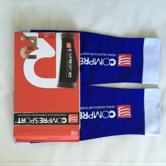 COMPRESSPORT 瑞士compressport r2运动压缩腿套小腿套护腿套 蓝 T3腿围38-42 晒单图