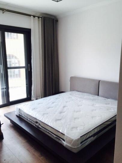 维玛现代简约主卧板式双人1.5/1.8米矮床板式北欧榻榻米床定制板床 情趣踏踏米公寓床 哑光漆 1800*2000 晒单图