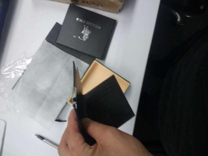 英皇保罗卡包 男士真皮长款钱包 牛皮迷你超薄卡包 休闲男多卡位大容量银行卡套 黑色 短款 晒单图