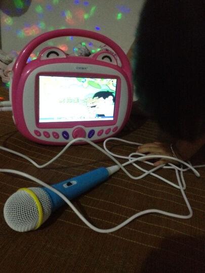 【香港】亿米阳光WIFI触屏儿童双话筒早教机视频故事机7英寸娃娃机可充电下载益智玩具 WIFI版7英寸粉色32G双话筒 晒单图