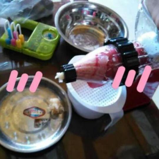 佐优 手动榨汁机家用慢速手摇原汁水果蔬菜果汁机 赠品螺母扳手 晒单图