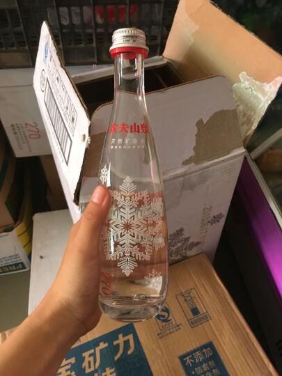 农夫山泉 高端天然矿泉水(玻璃瓶)350ml*24瓶 整箱(图案随机) 晒单图