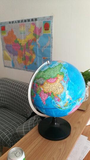 天屿 发光旋转智能ar地球仪初高中学生 32cm大号 赠地图放大镜 办公书房家居摆设 32cm教学款不带灯塑底 教学摆件地球仪 晒单图
