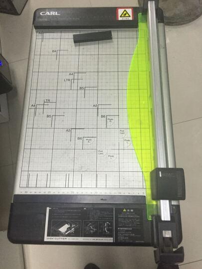咖路(CARL) 咖路CARL DC-230N厚层裁纸刀裁纸机A3滚轮切纸机照片切刀包邮 DC-230厚层A3 晒单图