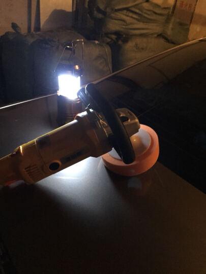 澳铂斯汽车抛光机打蜡机1350W高功率汽车抛光机220V调速地板打蜡抛光封釉机 抛光机黄色中配 晒单图