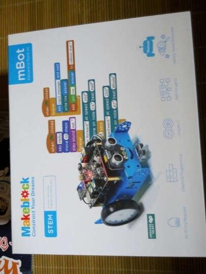 Makeblock官方直营店 mBot教育机器人套件 可编程智能机器人 儿童益智玩具 2.4G版蓝色 晒单图