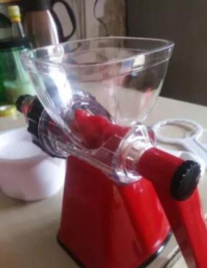 佐优 手动榨汁机家用慢速手摇原汁水果蔬菜果汁机 赠品过滤杯一个 晒单图