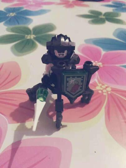乐高(LEGO)积木 未来骑士团Nexo Knights高科技骑士城堡9-14岁 70357 儿童玩具 男孩女孩生日礼物 晒单图