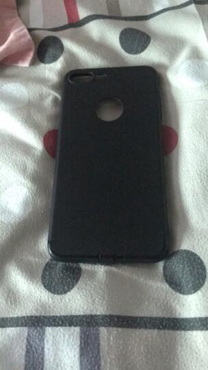 大网子 苹果7手机壳7plus全包磨砂防摔iPhone7保护套适用于 7plus-5.5英寸石墨黑-带防尘塞 晒单图