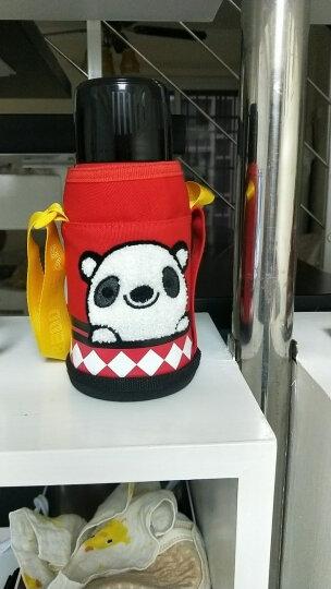 杯具熊(beddybear)儿童保温杯带吸管直饮两用水杯316不锈钢宝宝保温水壶 3D浮雕蛇 晒单图