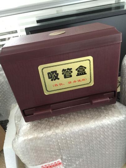 UPIN 吸管盒饮料珍珠奶茶粗麦当劳肯德基吸管盒细吸管盒子 可调节 晒单图