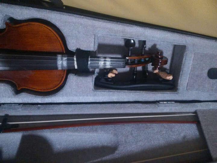 斯洛帕尼24A小提琴弓巴西红木马尾八角乌木库小提琴弓高档练习演奏小提琴弓子 1/4 晒单图
