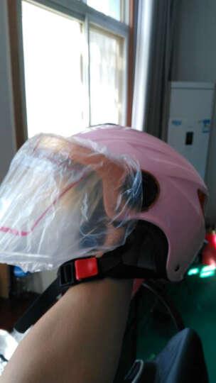 永恒(YOHE)339摩托车运动帽夏季电动电瓶车安全帽头盔轻便防晒紫外安全帽 铃木大红 XXL码 晒单图