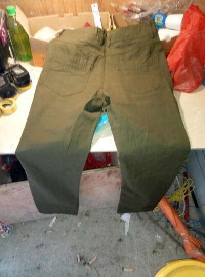 战地 户外军迷服饰五分短裤特种兵 男款战术裤作训服 军绿色 31 晒单图