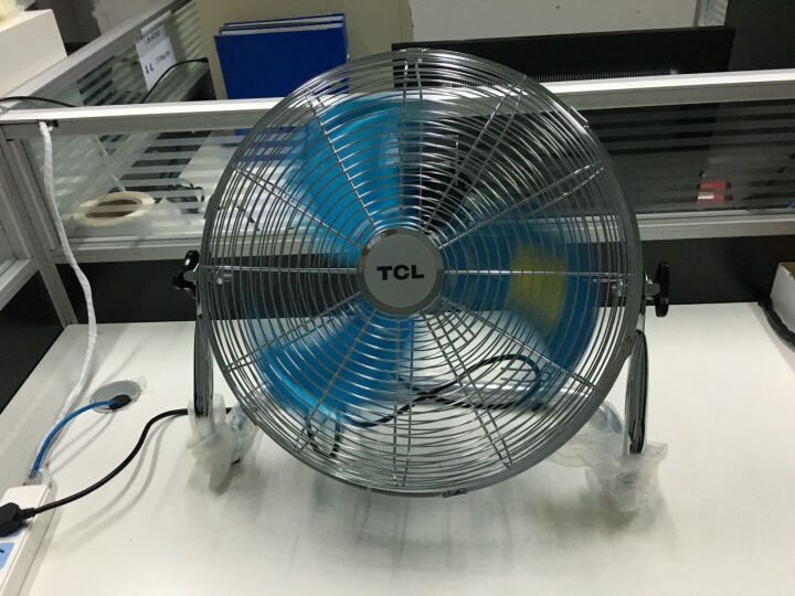 TCL FE-40T 电风扇/16寸工业扇/趴地扇 晒单图