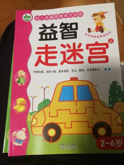 晨风童书 幼儿全脑思维多元训练 益智走迷宫(上下册) 晒单图
