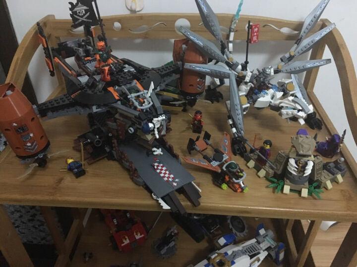 乐高(LEGO) LEGO乐高积木拼装拼插玩具 男孩积木玩具 幻影忍者系列 毁灭机器人装甲战车70726 晒单图