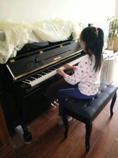 欧声(OUSSON)欧声钢琴 88键钢琴立式钢琴 新型音源设计 JY-T10 黑 晒单图