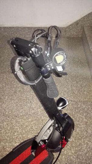 10寸成人可折叠电动车 便携代驾代步车 36V/48V锂电池 苹果绿动力款续航45KM 带坐垫 晒单图