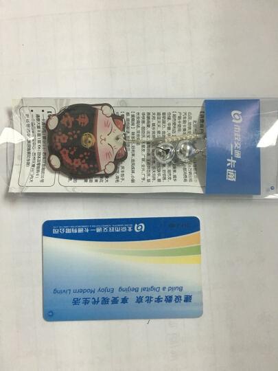 北京市政交通一卡通 公交卡 迷你卡 恋爱事业学业平安招财猫系列 平安运-黑猫 晒单图