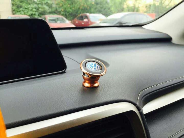 迪加伦 磁性 车载手机支架 出风口汽车导航车用手机架座 汽车用品 苹果三星华为小米oppo手机架 奥迪 Q5 A4L A6L A3 Q3 S5 a8 玫瑰金色 晒单图