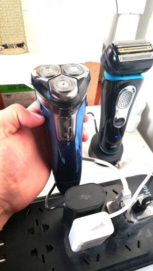 博朗(BRAUN)电动剃须刀全身水洗往复式刮胡刀德国整机进口四刀头9系9240s智能声波科技 晒单图