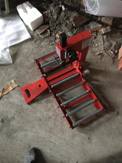 藤原加气块切砖机 轻质砖切割机 气泡砖加气砖手动推刀 泡沫砖切断机 新款方柱切砖机(8滚轴) 晒单图