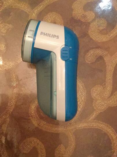 飞利浦(PHILIPS)毛球修剪器干电式(放电池)衣物去毛球器GC026 可分离毛球盒 浅蓝色 晒单图