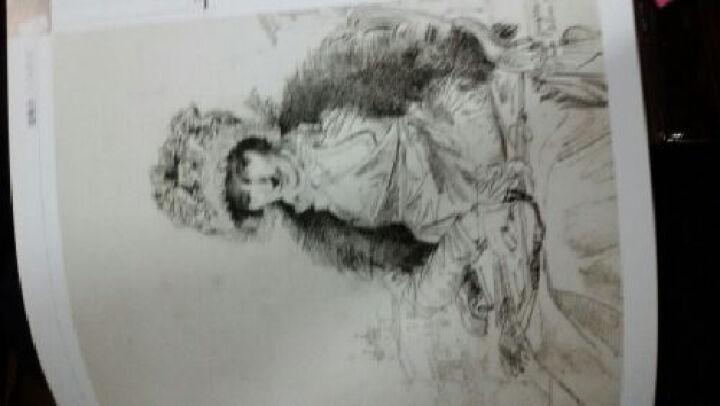 画坛巨匠:安格尔人物素描 晒单图