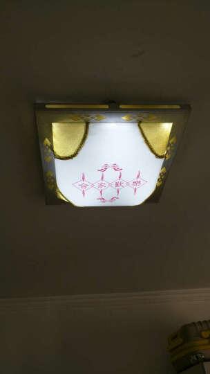 围普遥控调光H形led改造灯板替代LED吸顶灯节能灯管H管荧光四针灯管led灯条 40长一拖四 24W白光 晒单图