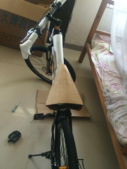 永久(FOREVER) 永久自行车27/30速26寸铝合金朝阳轮胎/变速一体轮山地车660 27速标准版-白蓝色 晒单图