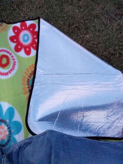 公狼(Hewolf)野餐垫 户外防潮垫 加厚帐篷睡垫 双人坐垫地垫 野餐布沙滩垫 太阳花色2X2米 晒单图