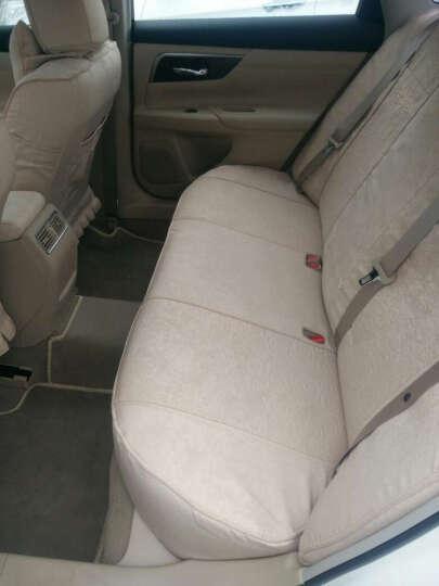 威威汽车座套全包轩逸卡罗拉朗逸凯美瑞威朗XRV途观速腾起亚K3宝骏560宝来英朗坐垫座垫 CK15111卡其色 5座车型 晒单图