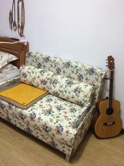 约梦千年沙发床 折叠沙发床 布艺双人沙发床 小户型多功能沙发床 金属灰 1.2米 晒单图
