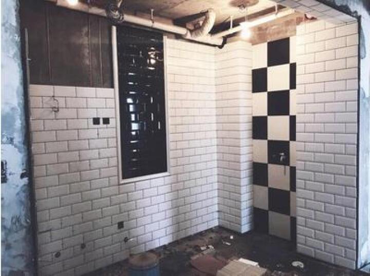 简非瓷砖 地砖厨房卫生间墙砖釉面阳台面包砖地铁砖100 75*150平面亮光黑 其它 晒单图