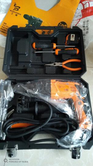 工蜂(WORKERBEE)多功能电锤电钻套装 家用轻型两用 内附钻头 GH2-12RE 晒单图