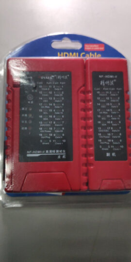 精明鼠(noyafa)NF-HDMI-II测试仪 测线器 查线仪 测试器 测线仪 寻线器 高清线A 接口,C接口测试 晒单图
