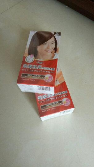 美源(Bigen) 日本Bigen美源丝质护发染发霜遮盖白发一梳黑黑发霜染发剂焗油膏 8C亮铜金色 晒单图