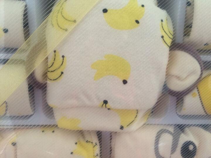 班杰威尔 婴儿礼盒新生儿衣服纯棉春夏秋冬款宝宝满月百日礼婴儿用品 加厚香蕉猴B款(17件套) 晒单图