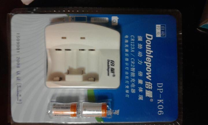 倍量 CR2电池 mini25拍立得电池 cr2充电电池 3v电池 200毫安充电器套装 CR2充电电池套装 晒单图