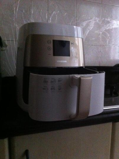 【下单立减】现代(HYUNDAI)LF-7515第四代触控家用空气炸锅烤肉机薯条机热风循环替代电烤箱 晒单图