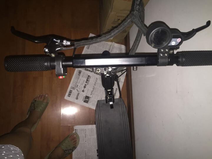 飞轮威尔 成人电动滑板车  锂电折叠电动车 迷你代驾电动平衡车 T1-8英寸黑色18AH-50KM 晒单图