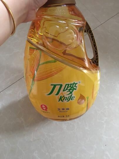 刀唛 Knife 食用油 压榨一级 玉米油5L 香港品质 晒单图
