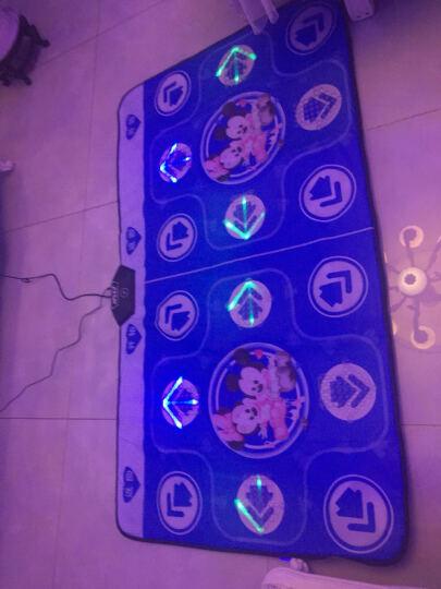 瘦身男女 S-64 跳舞毯电视电脑两用 双人高清体感手舞足蹈跳舞机 音乐紫(发光按摩)+体感游戏+瑜伽+健身操+双手柄 晒单图