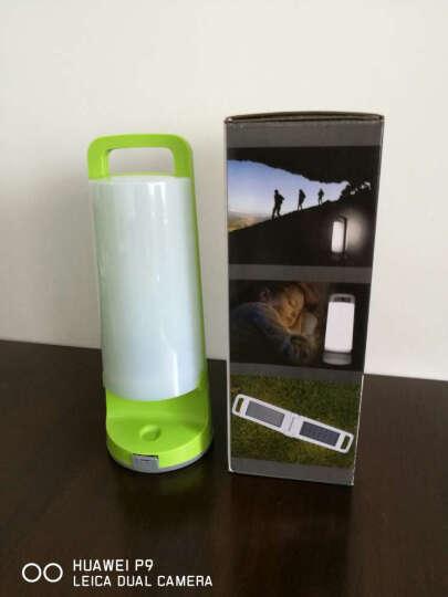 EcoWalker 太阳能充电LED户外手提灯野营灯露营灯帐篷灯应急灯营地灯探照灯小夜灯 暖阳橘色 晒单图