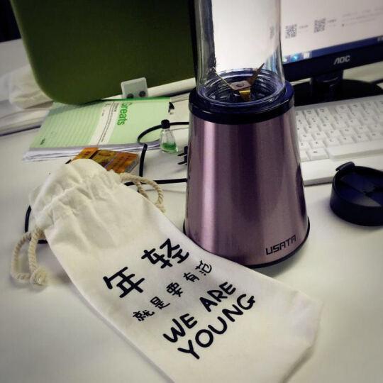 御尚堂(USATA)粉萌限量版 便携式榨汁机 家用果汁机辅食搅拌机 限量版单杯装 晒单图
