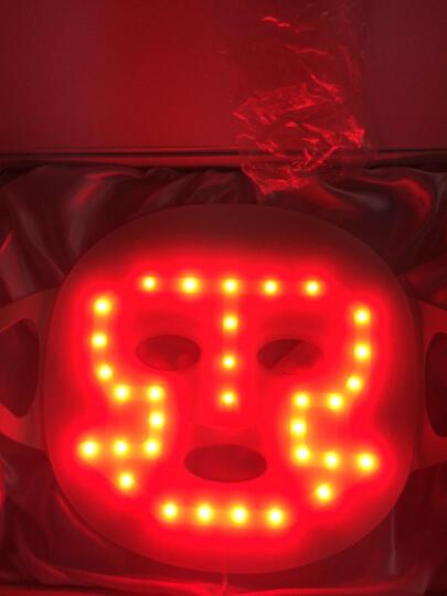 THB 红蓝光祛痘仪器家用光子嫩肤仪 美肤 提拉 淡皱 童颜机 面罩 美容仪 红光震动瘦脸面膜 晒单图