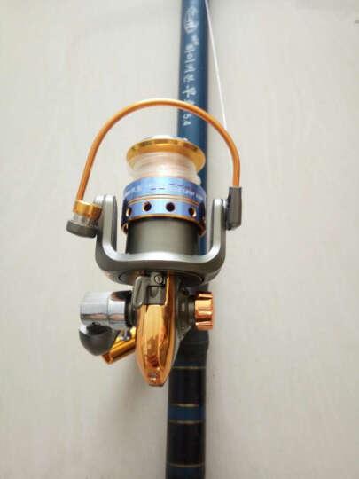 全金属头12轴纺车轮钓鱼线轮渔轮矶钓轮路亚轮绕线轮海竿轮渔具 12轴7000金属轮送鱼线 晒单图